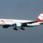 Austrian Airlines использует на рейсах в Москву Boeing 777